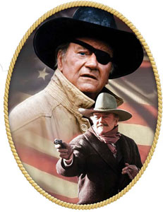 Rooster Cogburn and JB Brooks