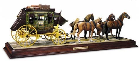 John Wayne Stagecoach by Franklin Mint