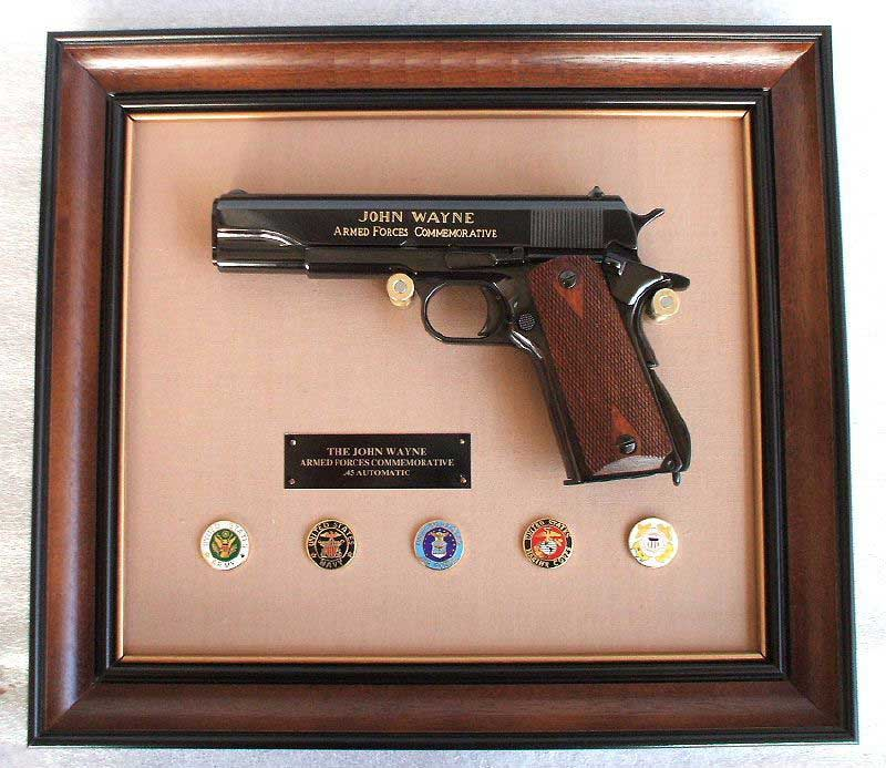 John Wayne Armed Forces 45 Automatic Commemorative